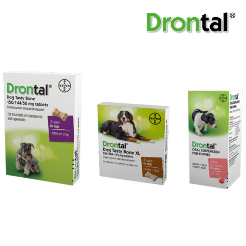 Drontal Dog Range